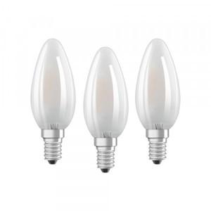 Osram LED Kerzenlampe Base CLB40 ,  E14 - 4 W, 3er Packung