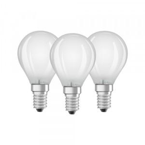 Osram LED Tropfenlampe Base CLP40 ,  E14 - 4 W, 3er Packung