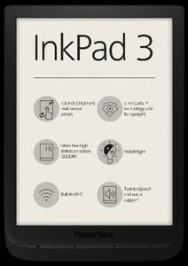 Pocketbook InkPad 3 - black, E-Book Reader
