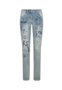 Million X Mädchen Jeans Phönix, light blue denim, 170