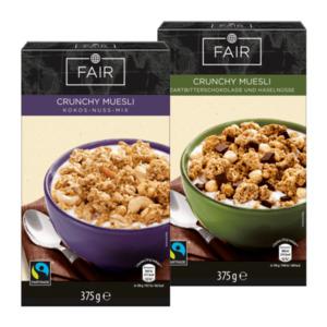 FAIR     Crunchy Müsli, Fairtrade