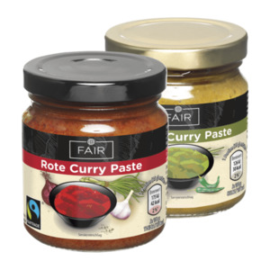 FAIR  	   Curry Paste, Fairtrade