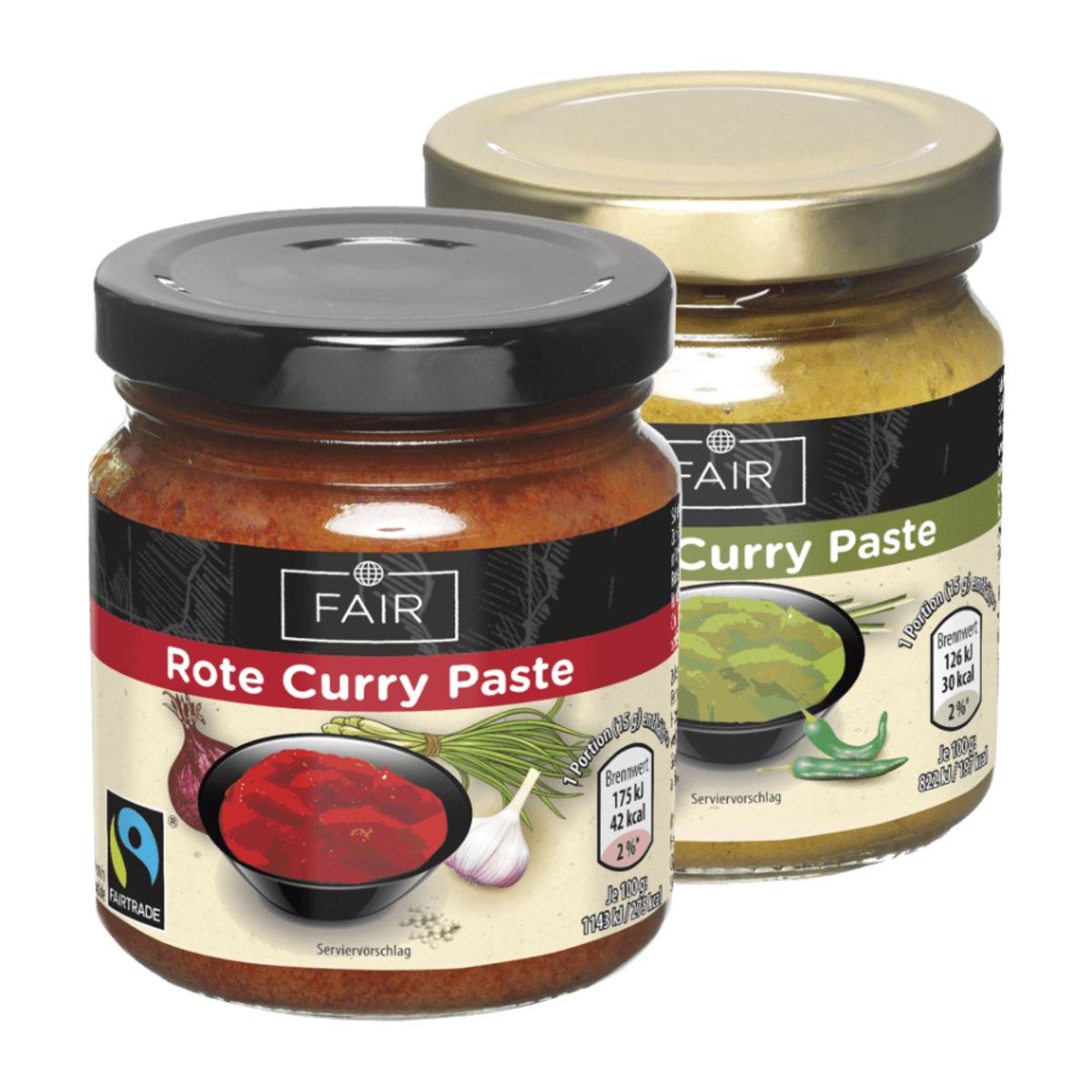 Bild 1 von FAIR     Curry Paste, Fairtrade