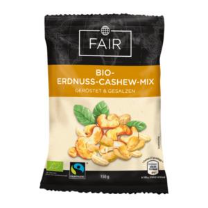 FAIR     Bio-Erdnuss-Cashew-Mix, Fairtrade