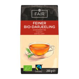 FAIR     Feiner Bio-Darjeeling, Fairtrade