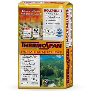 Thermospan Holzpellets Premium gesackt ca 15 Kg