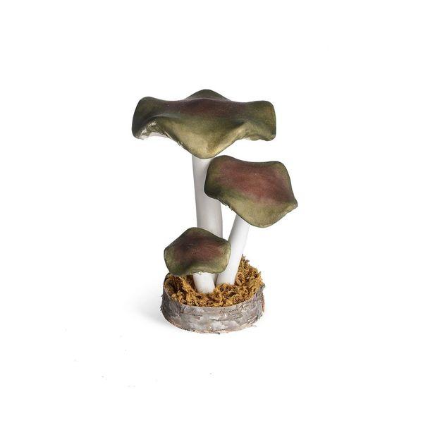 Dekoobjekt Pilze, D:14cm x H:20cm, grün