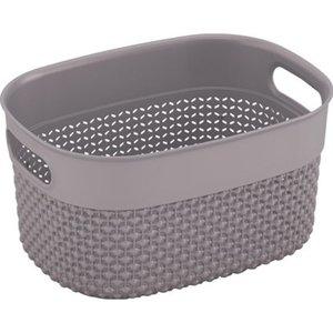 Körbchen Filo Basket XS Taupe 3,5 l