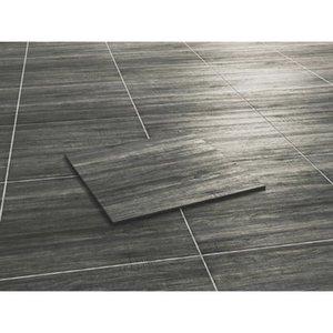 Terrassenplatte Feinsteinzeug Ebony - Holzoptik 60 cm x 60 cm 2 Stück