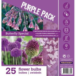 Blumenzwiebel-Mix Color Pack Purple Butterfly Special