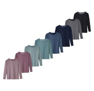 Laura Torelli Classic Damen-Shirt mit tollem Ärmelumschlag