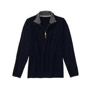 Reward classic Herren-Pullover mit kleinem Reißverschluss