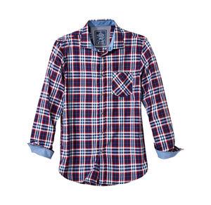 Reward classic Herren-Hemd mit kontrastreichem Karomuster