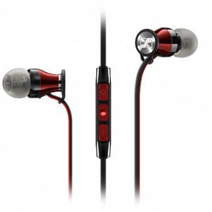 Sennheiser MOMENTUM i (schwarz) - In-Ear Kopfhörer/Headset (iPhone/iPad/iPod)