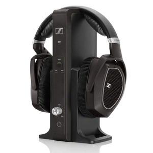 Sennheiser RS 185 - Digitaler Funkkopfhörer (100 m Reichweite, 2,4 GHz unkomprimierte Übertragung, manueller Pegeleinstellung)