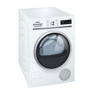 Siemens WT47W5W0 Weiß iQ700 Wärmepumpen-Wäschetrockner, A+++, 8kg-