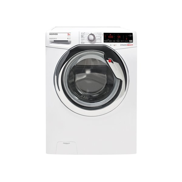 Hoover DXOASS G49AHC7-84 Weiß Waschvollautomat mit NFC-Technologie, A+++, 9kg, 1400U/Min-