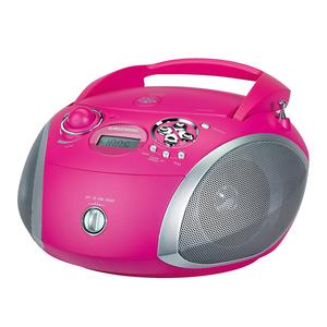 Grundig GRB 2000 USB - Pink/Silber [Radio mit CD-Player]