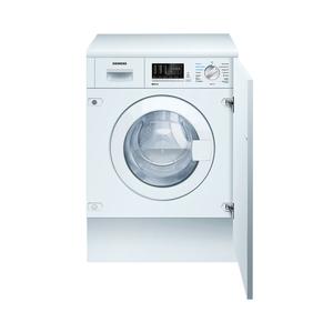 Siemens WK14D541 Weiß Einbau-Waschtrockner, B, 7kg/4kg, 1400U/min