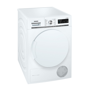 Siemens WT44W5W0 Weiß Wärmepumpentrockner, A+++, 8kg-