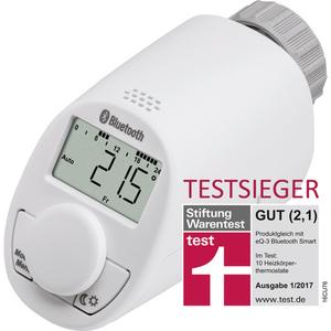 Eqiva eQ-3 Bluetooth Smart Heizkörperthermostat 141771, Testsieger, Boost-Funktion, individuelle Heizphasen