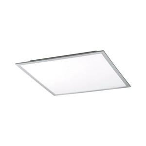 LeuchtenDirekt LED Deckenlampe FLAT 45 x 45 Eisen/Weiß