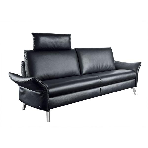 Mondo 25 Sitzer Sofa Lederbezug Smoke Von Porta Möbel Ansehen