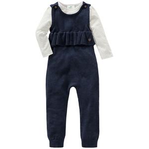 Baby Langarmshirt und Overall