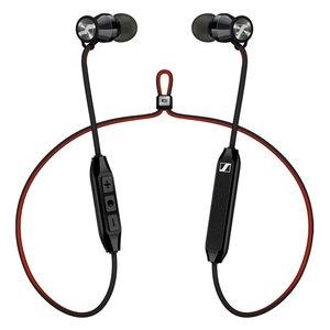 Sennheiser MOMENTUM In-Ear Wireless free [schwarz-rot] - Professionelles High-End Ohrkanal-Headset