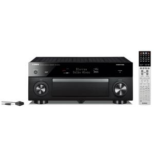 Yamaha RX-A1070 (schwarz) - AV-Receiver (170W/Kanal, USB, LAN, WLAN, Bluetooth)