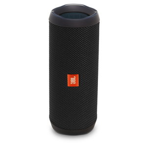 JBL Flip 4, Tragbarer Bluetooth-Lautsprecher, Schwarz
