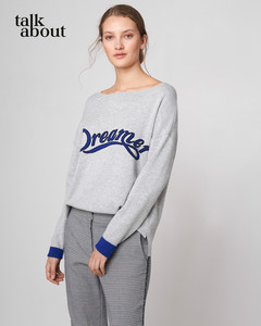 talkabout - Doubleface Pullover mit Intarsie