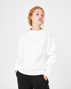 Neopren-Sweatshirt mit Rückenprint