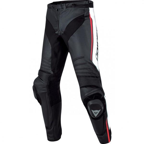 Dainese            Misano Lederhose schwarz/weiß/rot
