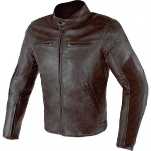 Dainese            Stripes D1 Leather Lederjacke braun