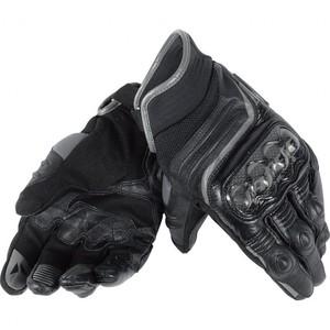 Dainese            Carbon D1 Lederhandschuh kurz schwarz