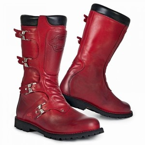 Stylmartin            Continental Stiefel rot