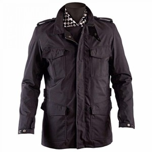 Helstons            Daytona Textiljacke schwarz
