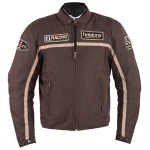 Helstons            Daytona Textiljacke braun/beige