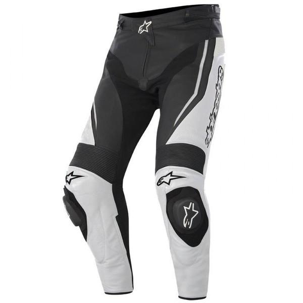 Alpinestars            Track Lederhose schwarz/weiß