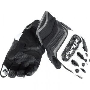 Dainese            Carbon D1 Lederhandschuh kurz schwarz/anthrazit