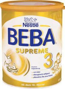 Nestlé BEBA BEBA Supreme Folgemilch 3 ab dem 10. Monat
