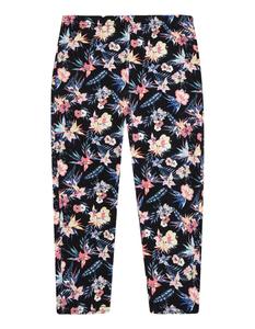 Mädchen Capri-Leggings mit Blumen-Print