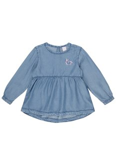 Newborn Shirt in Denim-Optik