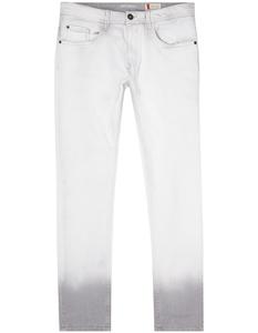 Herren Bleached Slim Fit 5-Pocket-Jeans