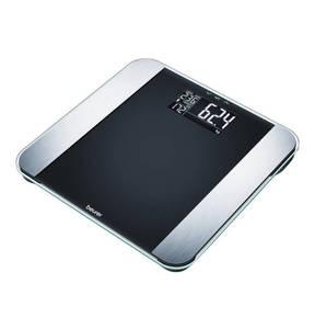 """Beurer             Glas-Diagnosewaage """"BF Limited Edition"""", Ermittlung von Körpergewicht, -fett, -wasser, Muskelanteil, Knochenmasse und Kalorienbedarf, Tragkraft 180 kg"""