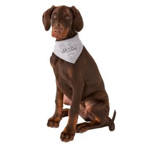 Hundehalstuch, Pet Club, Baumwolle, grau, S