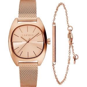 Esprit Set Damenuhr und Armband
