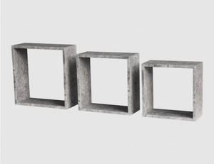 Regalset Simple beton