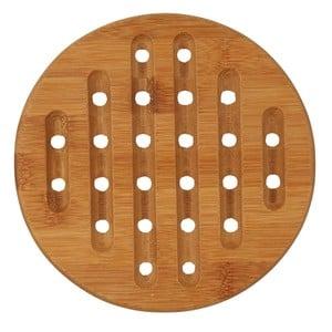 Untersetzer, Holz, rund, 18 cm